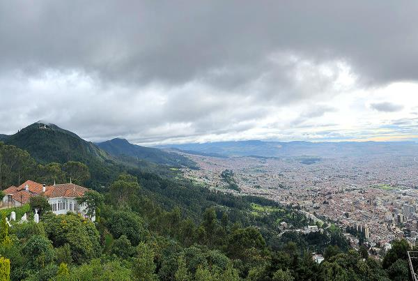 Day Off in Bogota - City Views.
