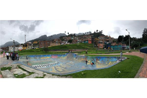 Day Off in Bogota - Park Fun.