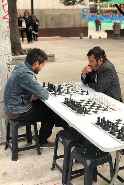 Day Off in Bogota - Chess Life