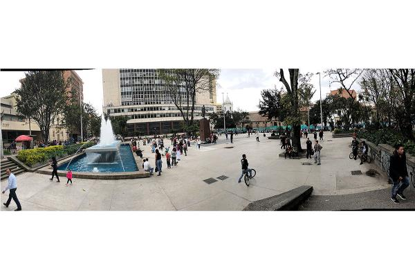 Day Off in Bogota - Another Plaza.