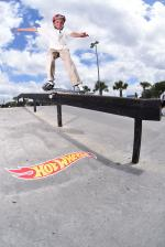 Feeble grind from Brody.