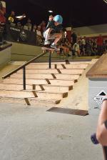 Noah Pollard with a proper kickflip.