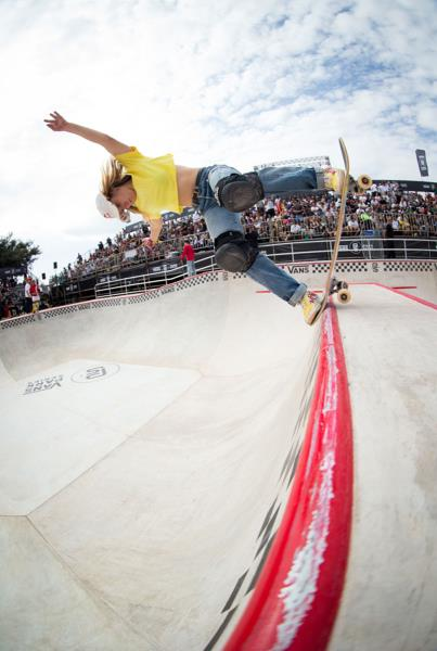 Vans Park Series Sao Paulo - Brighton Back Blunt