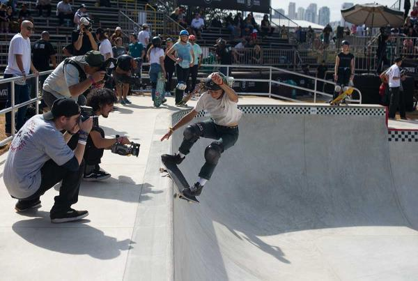 Vans Park Series at Sao Paulo - Smith Grind Tail Grab