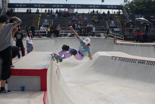 Vans Park Series at Sao Paulo - Nora Warming Up