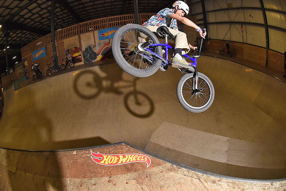 HWJS at Rye - BMX Bowl Hip