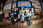 Bombette Martin taking 1st in Skateboarding Street Women's.