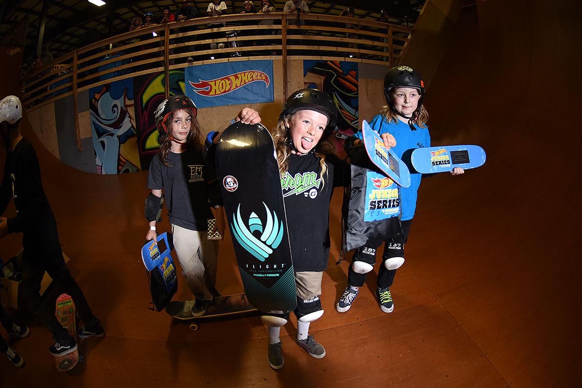 HWJS at Rye - Skateboarding Vert 10 and Under