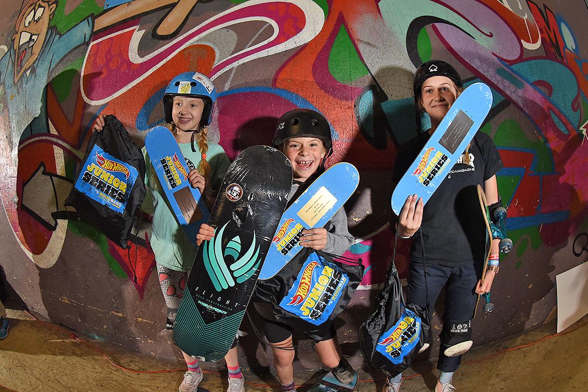 HWJS at Rye - Skateboarding Bowl Women's