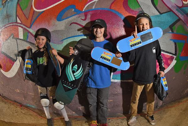 HWJS at Rye - Skateboarding Bowl 10 and Under