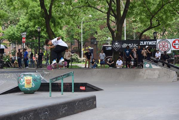 Boardr Am NYC 2018 - Flick Back Lip