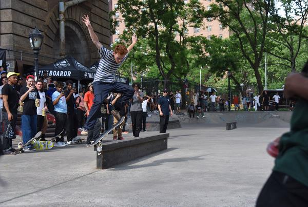 Boardr Am NYC 2018 - Crook Nollie Flip