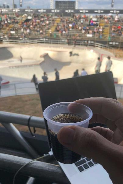 Vans Park Series at Sao Paulo - Coffee Shots