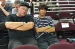 Mike Sinclair and Yuto at Street League Los Angeles.