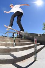 Cole Gossett with the back tail.