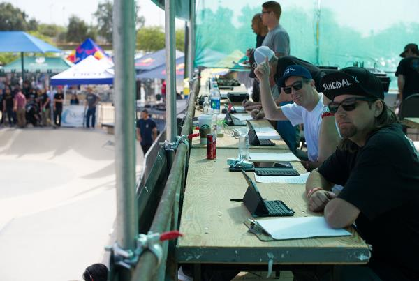 Judges at Phoenix Am Using The Boardr Live Scoring System