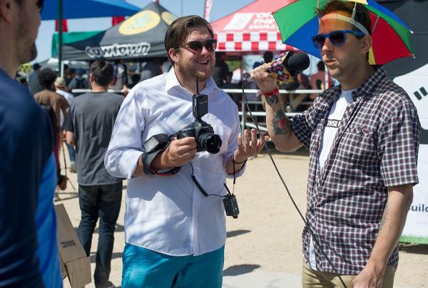 Matt Price and Chris Nieratko at Phoenix Am