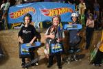 Skateboarding Street 10 and Under winners.