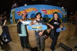 Skateboarding Bowl 10 and Under winners.