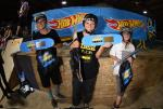 Skateboarding Bowl 11 to 16 winners.