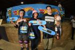 Skateboarding Bowl Advanced winners.