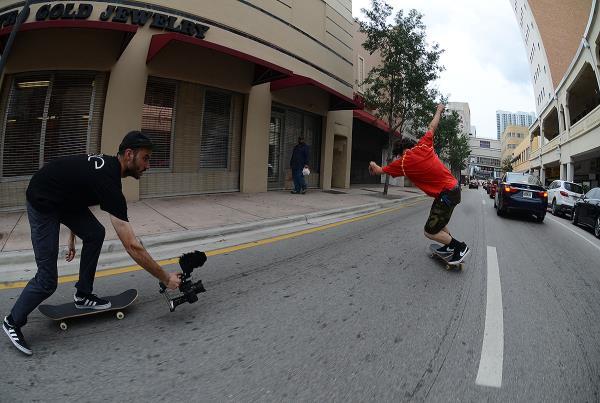 Jereme Knibbs Powerslide in Miami