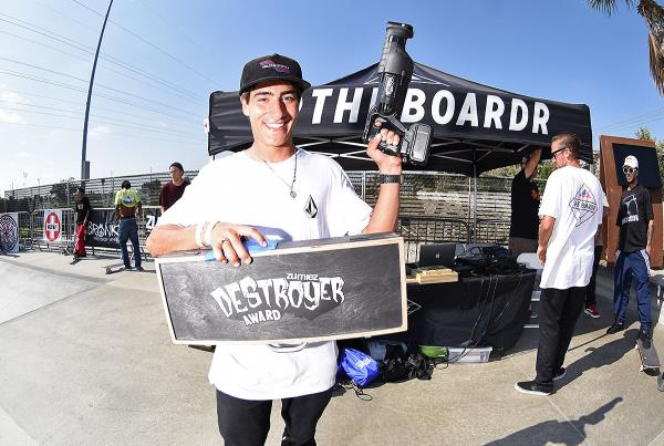 Boardr Am HB 2018 - Zumiez Destroyer Award
