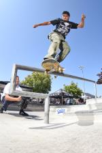 Jose Hernandez with the back smith.