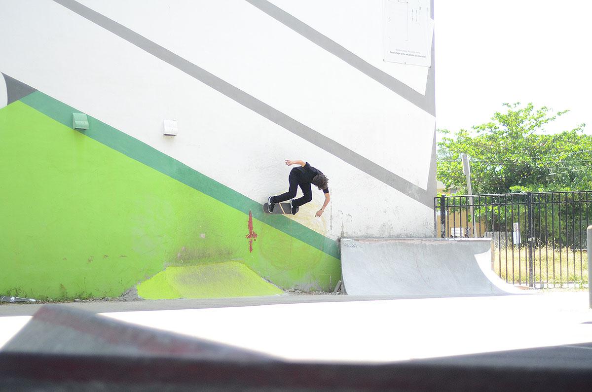 Jereme Knibbs Wallride in Miami