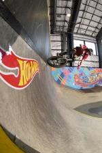 Owen Davis cruising on the vert wall.
