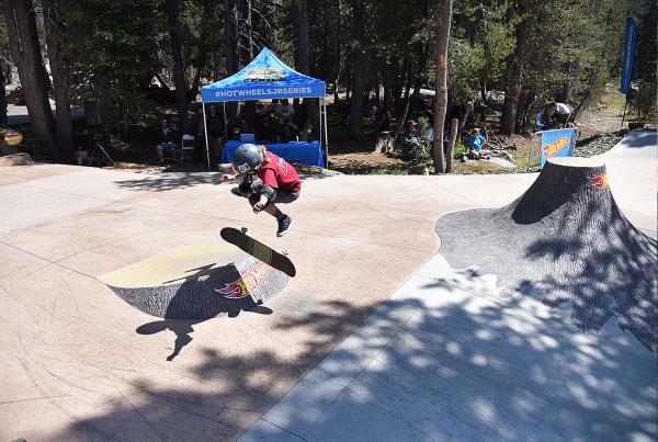 HWJS at Tahoe - Kickflip.