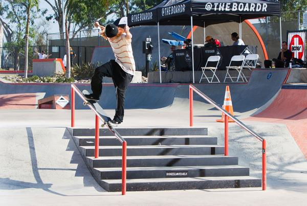 Boardr Am SD 2018 - Fakie Nosegrind.