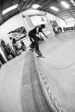 Devandre Gallant dipping a back smith.