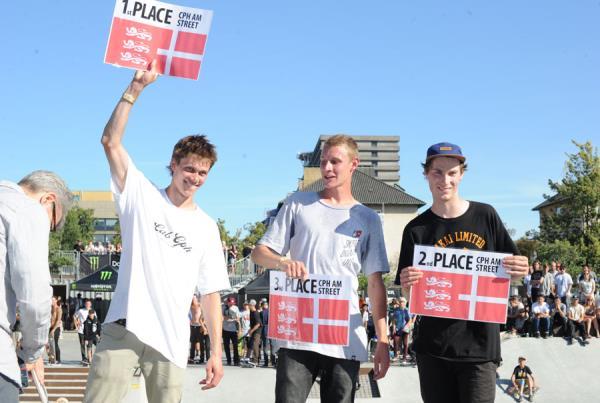 Mads Christensen, Robbin de Wit, and Marc Andresen at Copenhagen Am