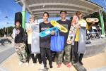 Top skaters from Street Sponsored Division.