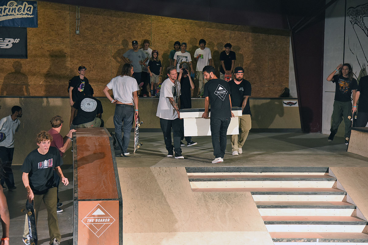 Best Trick at The Boardr - Setting up!