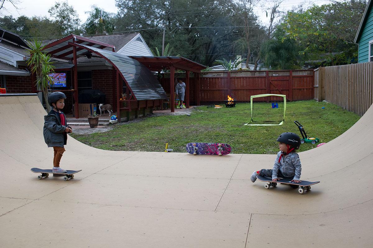 Playgrounds at Porpe's Ramp