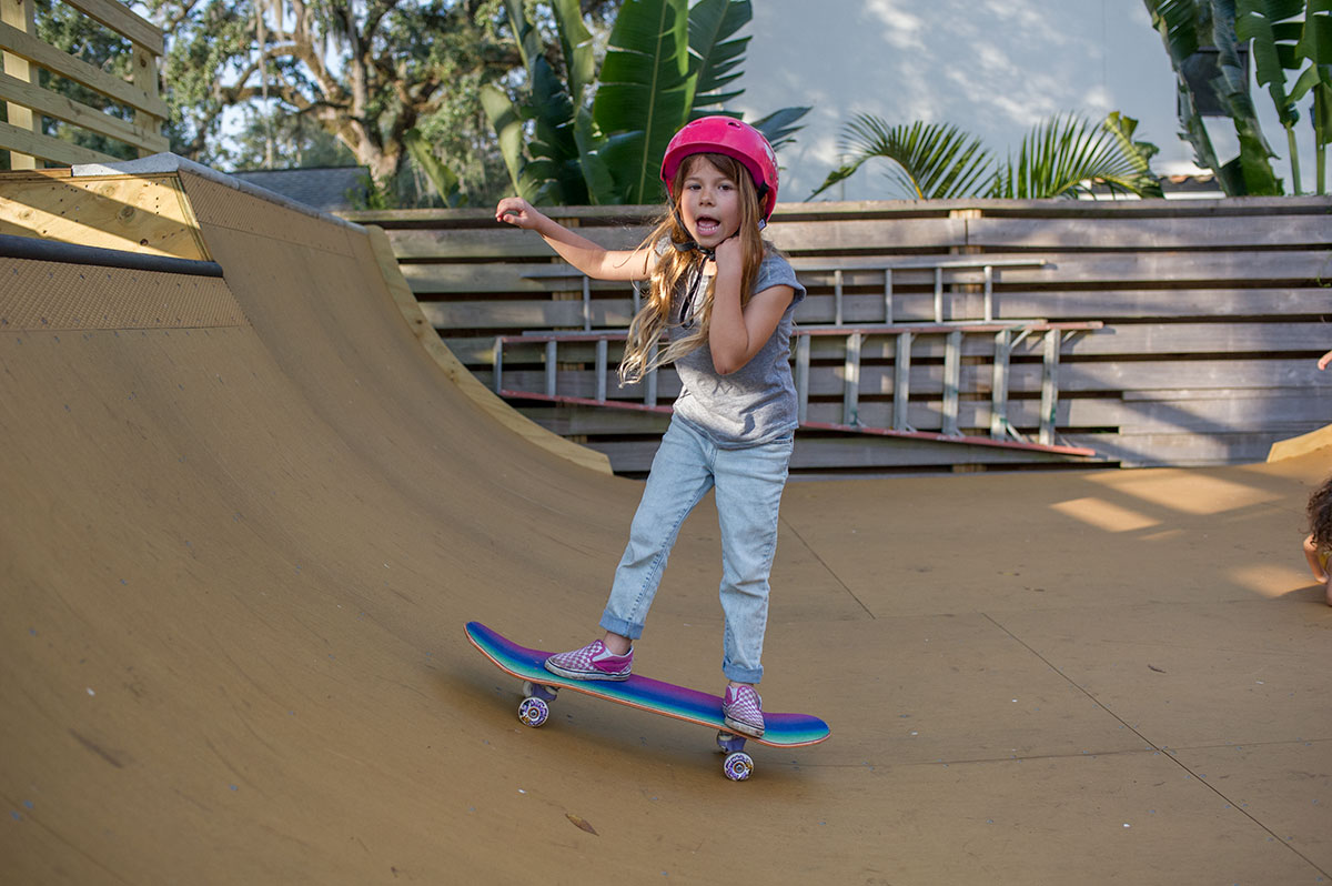 Weekend at Porpe's - Sloane on the Ramp