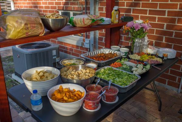 Weekend at Porpe's - The Food