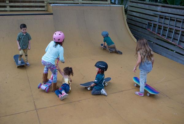 Weekend at Porpe's - Playground