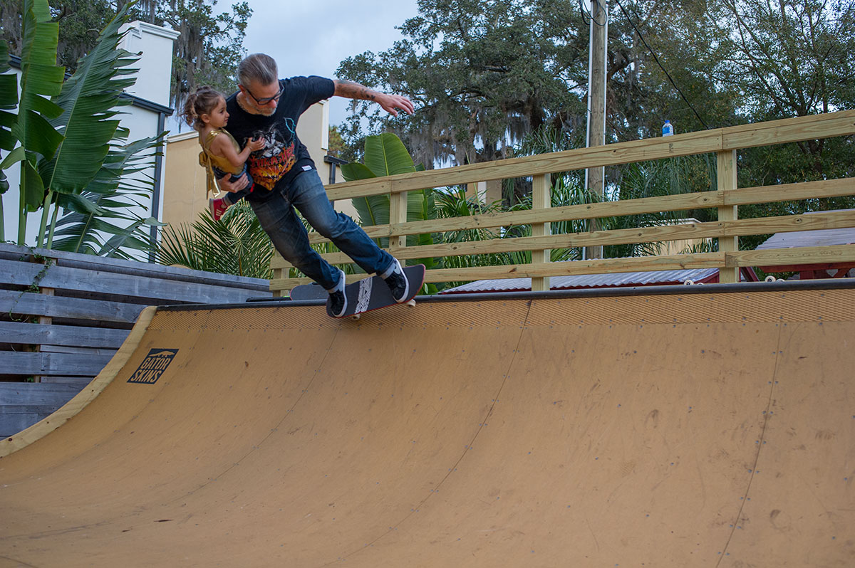 Weekend at Porpe's - Ford's First Backside Grind