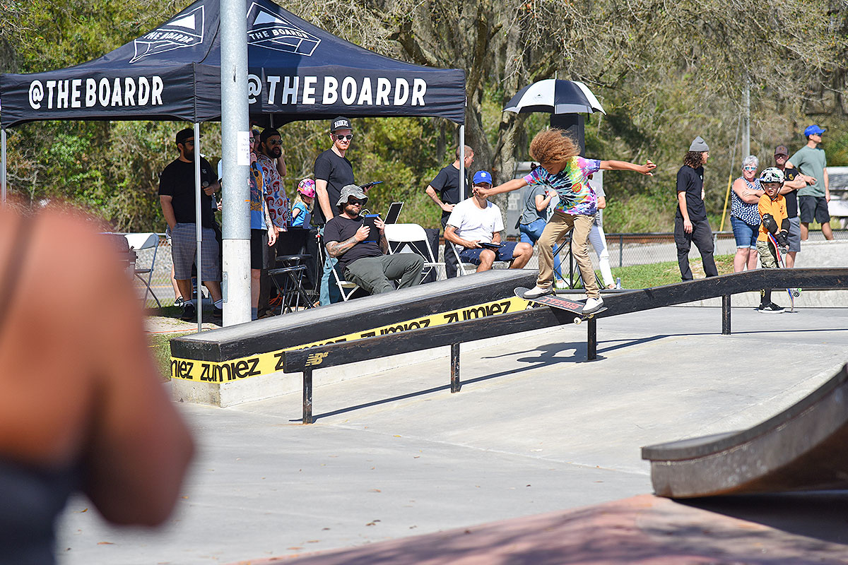 GFL at Zephyrhills - Boardslide.