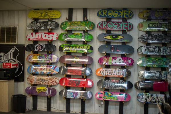 The Board Wall at New Smyrna