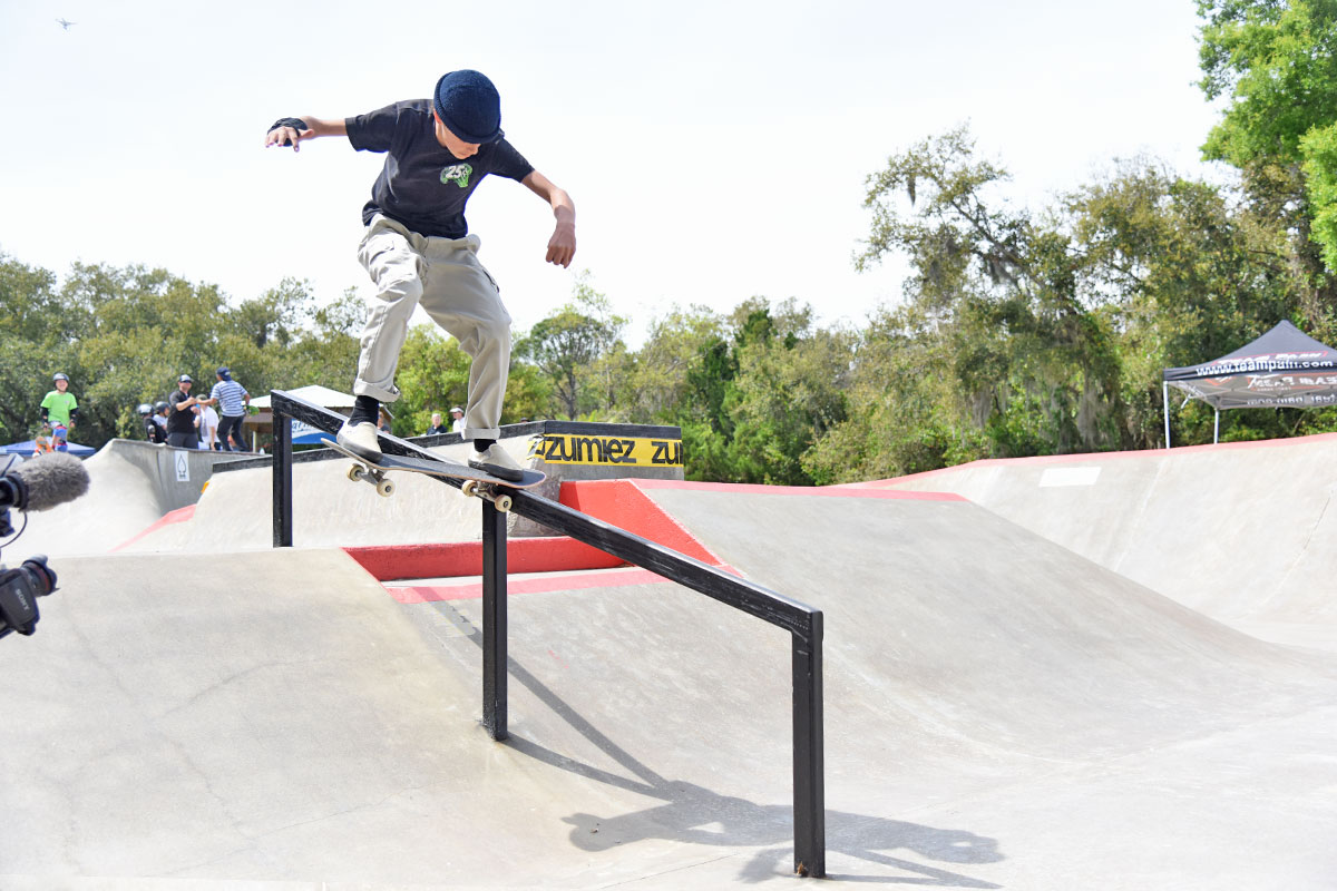 GFL at New Smyrna - Nose Slide.