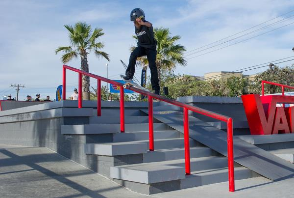 HWJS at Huntington - Nobacel Villalobos Smith Grind
