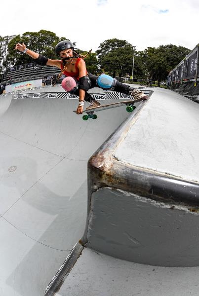 Vans Park Series Oceania - Mistie Mildenhall.