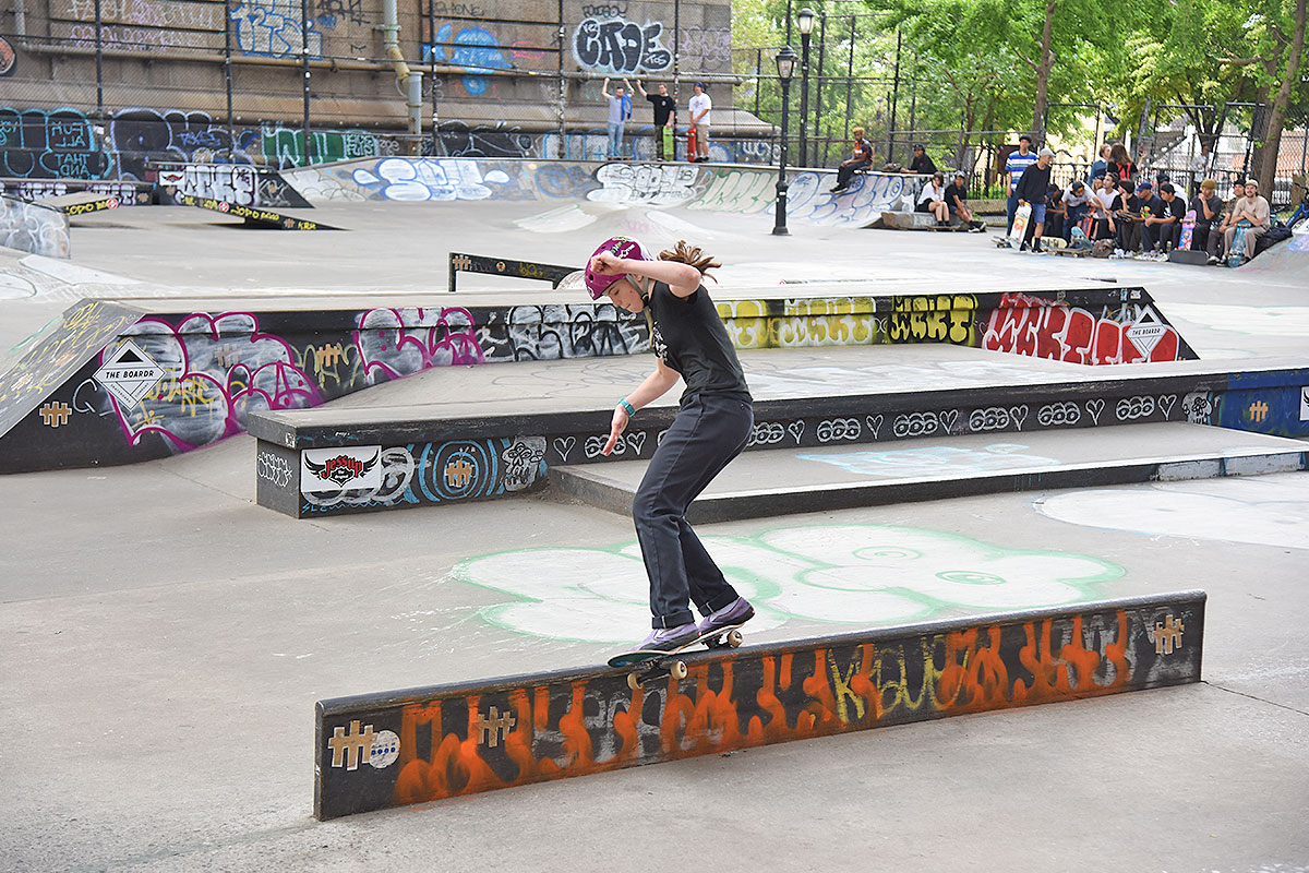 The Boardr Am at NYC - Ripping.