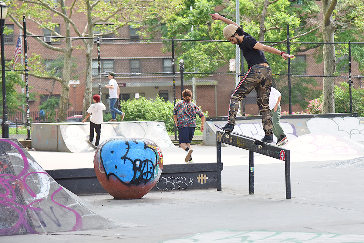 The Boardr Am at NYC - Back Tail.