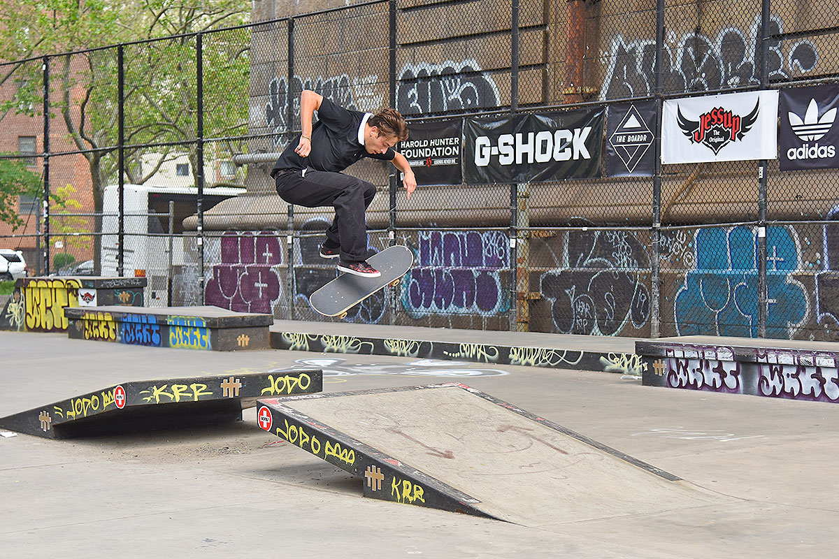 The Boardr Am at NYC - 3 Flip.