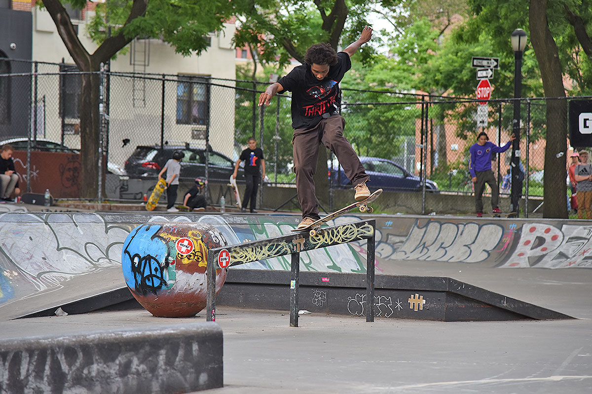The Boardr Am at NYC - Noseblunt.